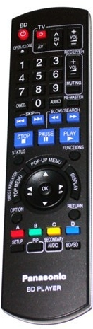 PILOT PANASONIC N2QAYB000185 BD PLAYER