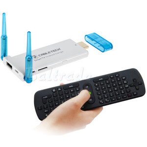 Cabletech Smart TV Android dongle z BT - dual core RK3066 - przy