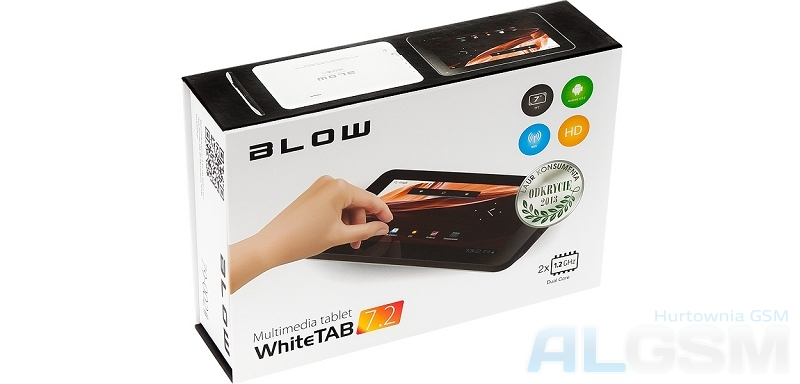 TABLET BLOW WHITETAB 7.2 DUAL CORE